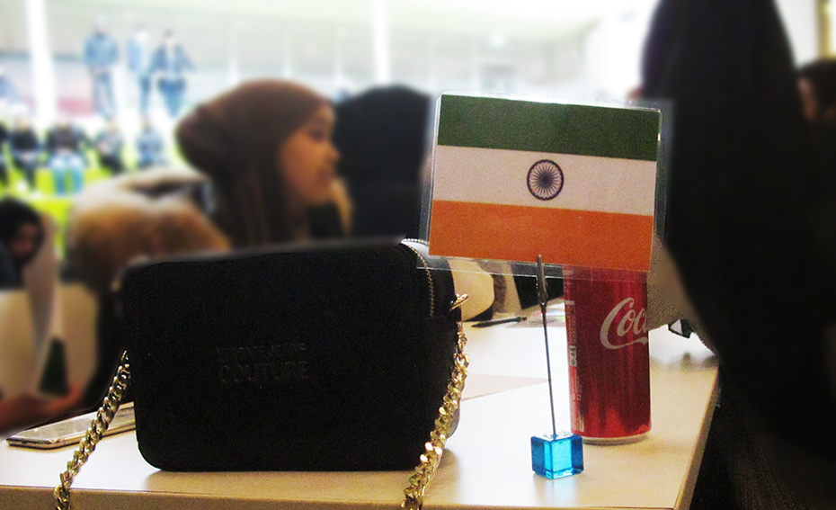 Indien fanns representerat.