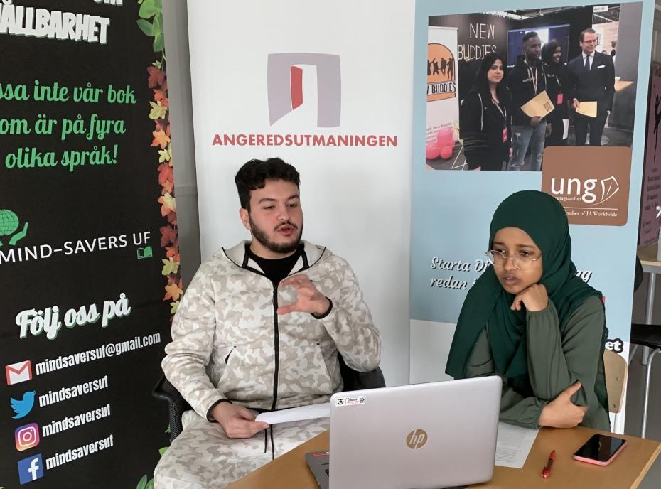 Shareef och Hafsa modererade ett timslång samtal med utmanarföretag som drabbats väldigt olika av pandemiåret.