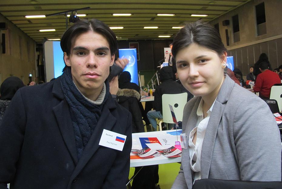 Paul Nyman och Emilia Sadholm från HA3
