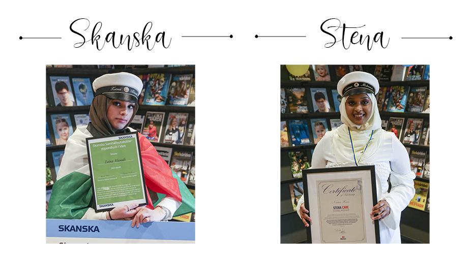 Stipendiat Skanska; Zeina & Stena; Naciimo