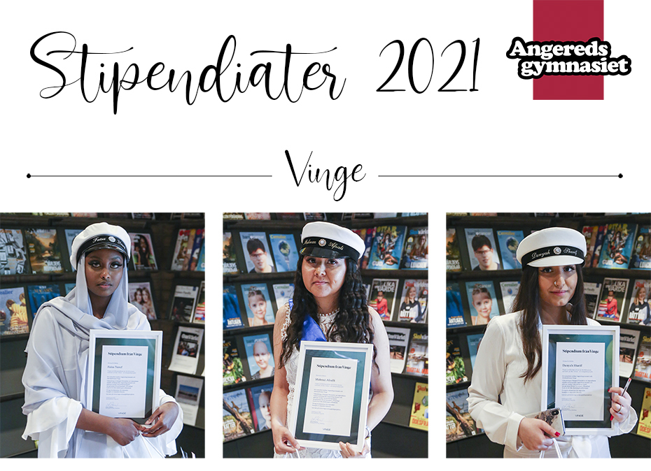 Stipendiater<span>fr v; Faisa, Mahnaz och Danyah</span>